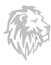 Lion's garage logo